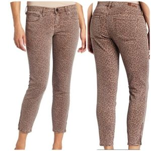 Kut From The Kloth Brigitte Skinny Leopard Jeans